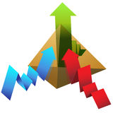 Profit Pyramid Royalty Free Stock Image