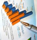 Profit report Stock Photography
