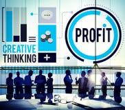 Profit Revenue Income Improvement Growth Success Concept Royalty Free Stock Image