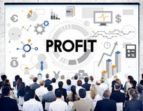 Profit Revenue Money Currency Business Concept Royalty Free Stock Images