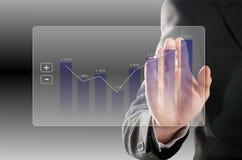 Profit rises Stock Images