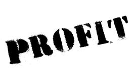 Profit rubber stamp Royalty Free Stock Photo