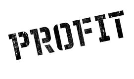 Profit rubber stamp Stock Photography
