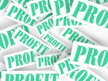 Profit Seamless Royalty Free Stock Photography