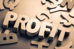 Profit Royalty Free Stock Images