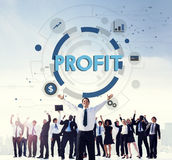 Profit Strategy Growth Business Finance Concept Royalty Free Stock Images