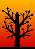 Profit tree Stock Photo