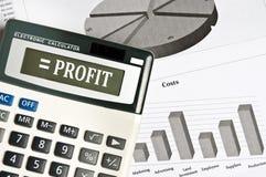 Profit word Stock Photos