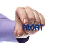 Profit word Royalty Free Stock Photo