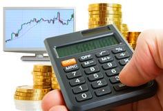 Profitability analysis. Stock Images