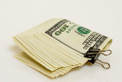 Profitability. Operation with the U.S. currency - cashing, exchange, purchase and sale Stock Image