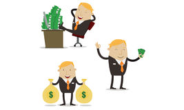 Profitable businessman Royalty Free Stock Photo