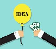 Profitable exchange business Royalty Free Stock Image