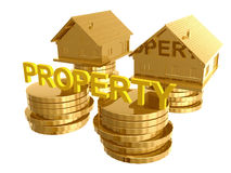 Profitable home investment icon Stock Photography