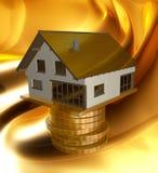Profitable home investment icon Stock Photos