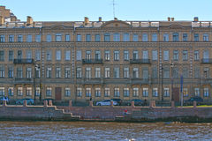Profitable house of merchants Yeliseyev in St. Petersburg, Russia Stock Images