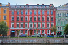 Profitable house of Tur in Saint Petersburg, Russia Stock Photography