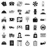 Profitable icons set, simple style. Profitable icons set. Simple set of 36 profitable vector icons for web isolated on white background Stock Photography