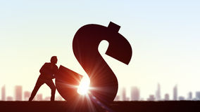 Profitable money investment Stock Images