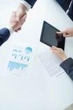 Profitable partnership Stock Images