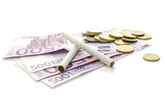 Profitable tobacco industry Stock Images