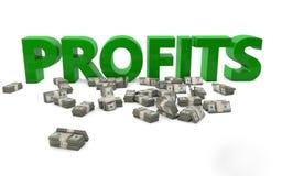 profite Lizenzfreie Stockfotos