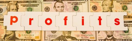 Profite: gutes Geschäft. Lizenzfreie Stockfotos