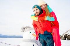 Profiter d'un agréable moment de couples Photo libre de droits
