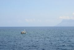Profiter d'un agréable moment en Grèce Image stock