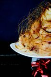 Profiterole, cream puff Stock Photo