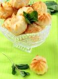 profiteroles торта Стоковое Изображение