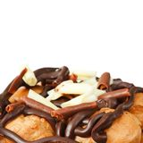 Profiteroles Stock Photo