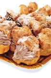 Profiteroles Royalty Free Stock Image
