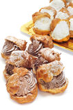 Profiteroles Royalty Free Stock Images