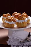Profiteroles. Royalty Free Stock Images