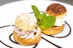 Profiteroles Royalty Free Stock Photo