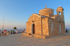 Profitis Elias Chapel in Protaras Stock Photo
