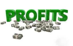 Profits Royalty Free Stock Photos