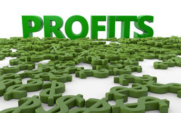 Profits Stock Photography