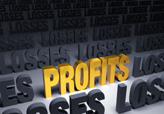 Profits! Royalty Free Stock Images
