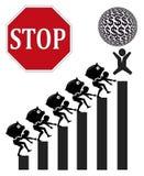Profitti delle azione e del lavoro infantile Fotografia Stock Libera da Diritti