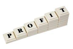Profitto aumentante Fotografia Stock