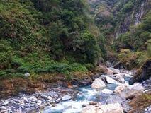 In profondità sul parco nazionale Taiwan di Taroko fotografie stock