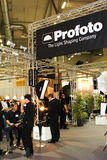 Profoto Lighting Stand at Photokina 2008 Royalty Free Stock Images