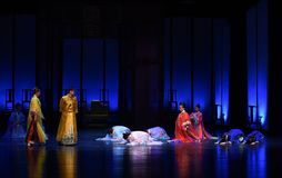 With profound respect and humility of the harem-back to the palace-Modern drama Empresses in the Palace Stock Photo