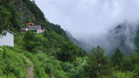 Profundamente em Cangshan, Dali fotografia de stock