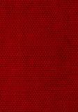 Profundamente - fundo vermelho da tela tecida Foto de Stock Royalty Free