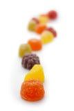 Profundidad baja de las pastillas de fruta del campo Imagen de archivo libre de regalías