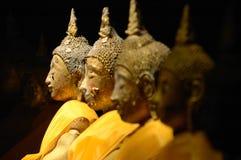 Profundidad del campo, luz en el Buddha. Foto de archivo