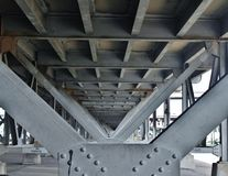 Profundidade da infraestrutura de campo Foto de Stock Royalty Free
